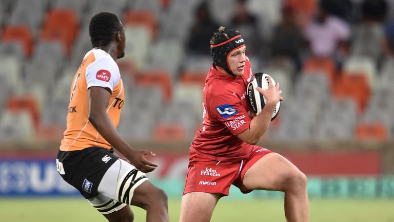 Taylor Davies was among the Scarlets try-scorers in their win in South Africa