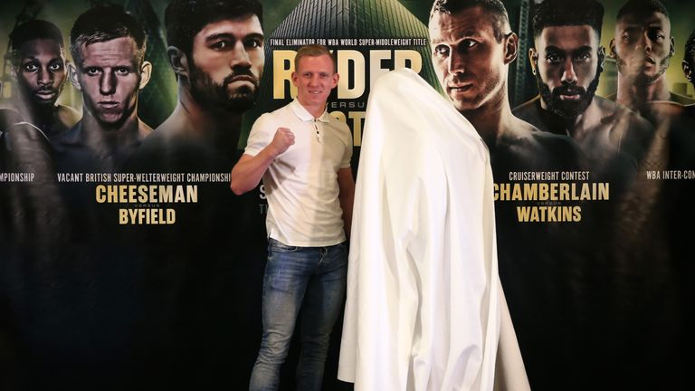 Byfield failed to show up for the first press conference to announce the fight.