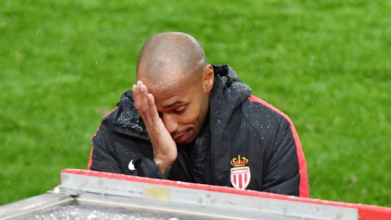 Thierry Henry's Monaco are four points from safety