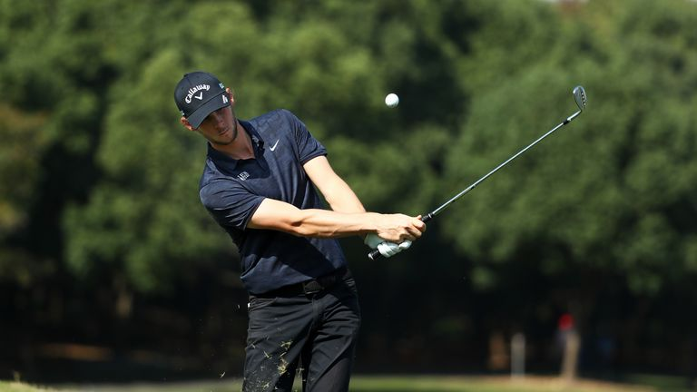 Pieters ended the week 13 strokes off the pace