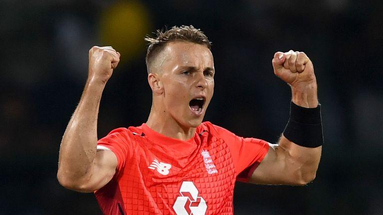 England's Tom Curran claimed 3-17 on an impressive international return