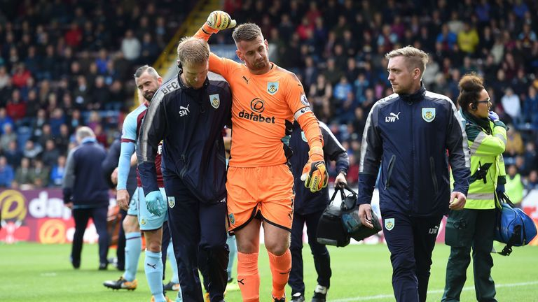 Tom Heaton suffered a serious shoulder injury last season and has subsequently lost his place in the Burnley team