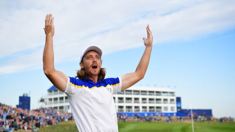 Tommy Fleetwood proved that rookies can prosper at the Ryder Cup