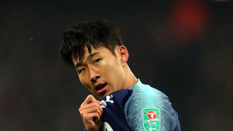 Heung-Min Son scored twice on Wednesday evening