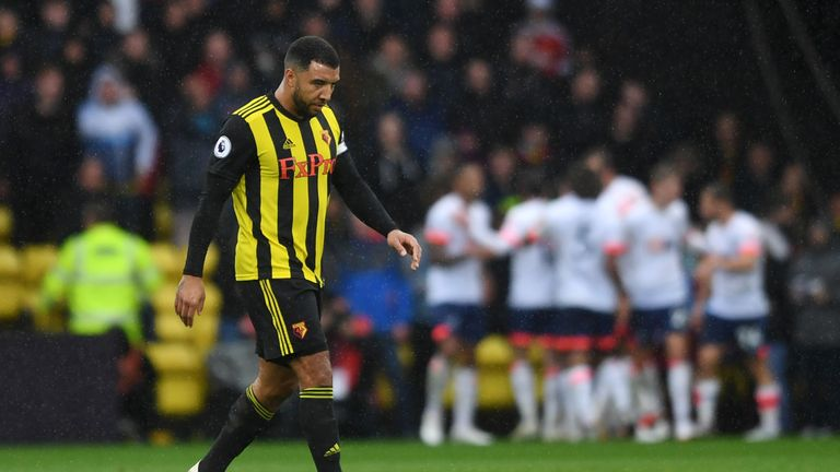 Troy Deeney has been charged by the FA