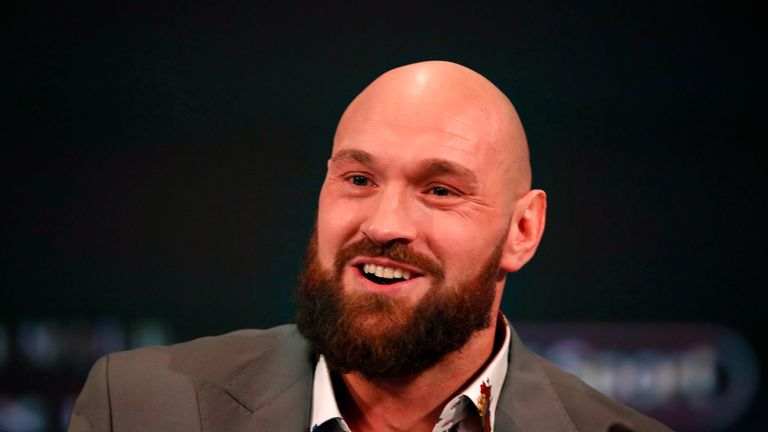 Fury insisted he would fight Whyte earlier this week