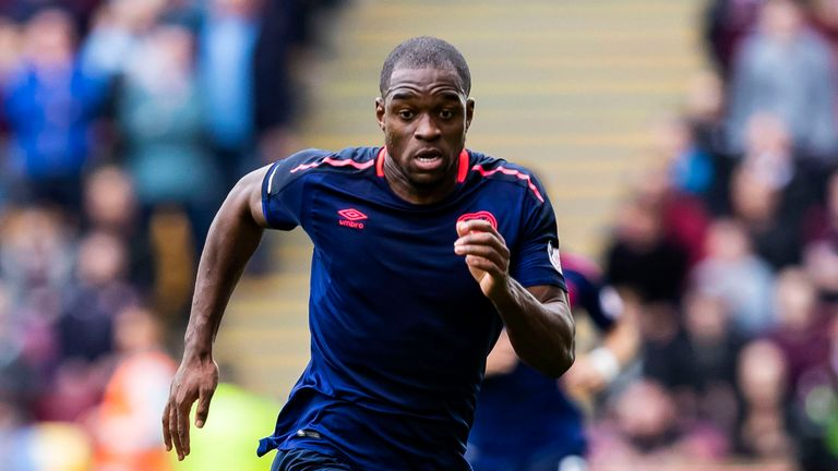 Uche Ikpeazu joined Hearts from Cambridge over the summer