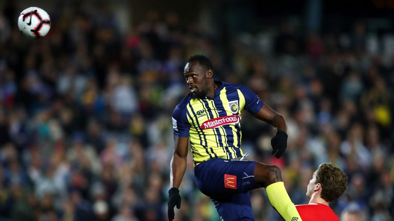 Bolt is in negotiations over a contract with the Mariners ahead of the 2018/19 campaign