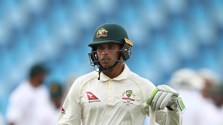 Usman Khawaja plays for Australia and Queensland