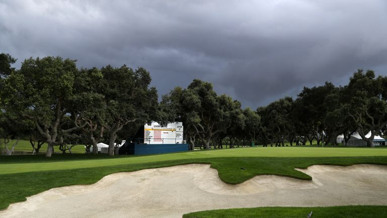 Play suspended at weather-affected Valderrama Masters