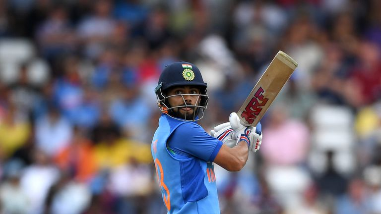 Virat Kohli has been named as Wisden's leading male cricketer of the year for the third time in a row