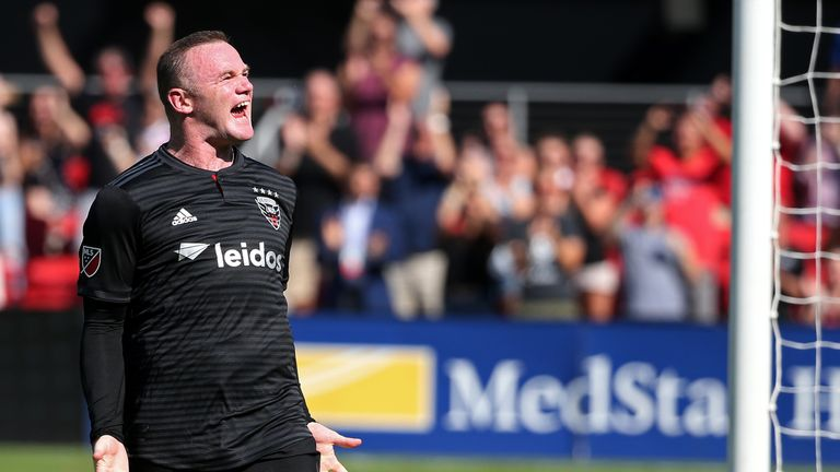 Rooney has scored 12 goals in 17 MLS games for DC United