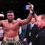 Jarrell Miller KO's Bogdan Dinu in four then calls for British heavyweight battle next