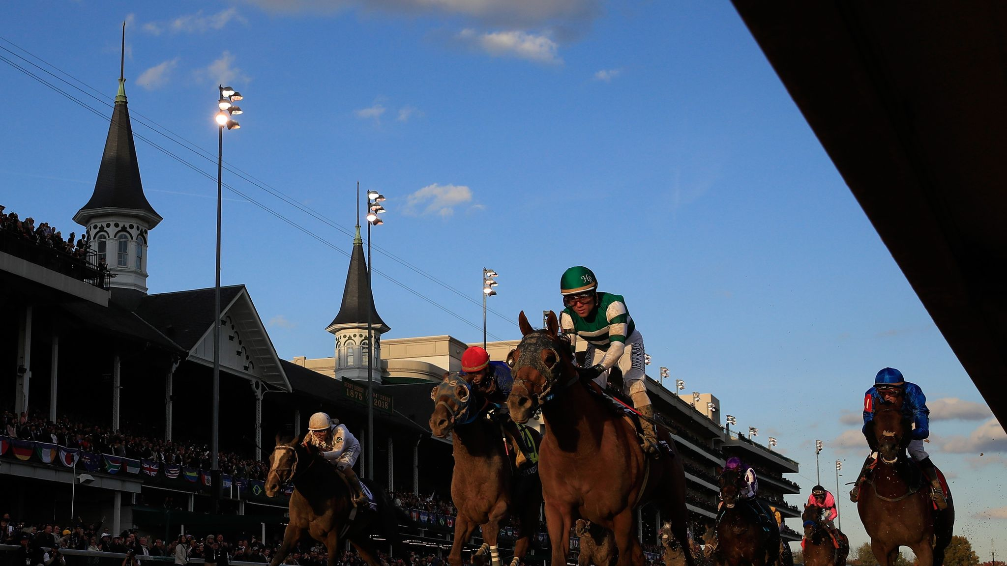 Drunk man arrested for riding horse at Breeders' Cup