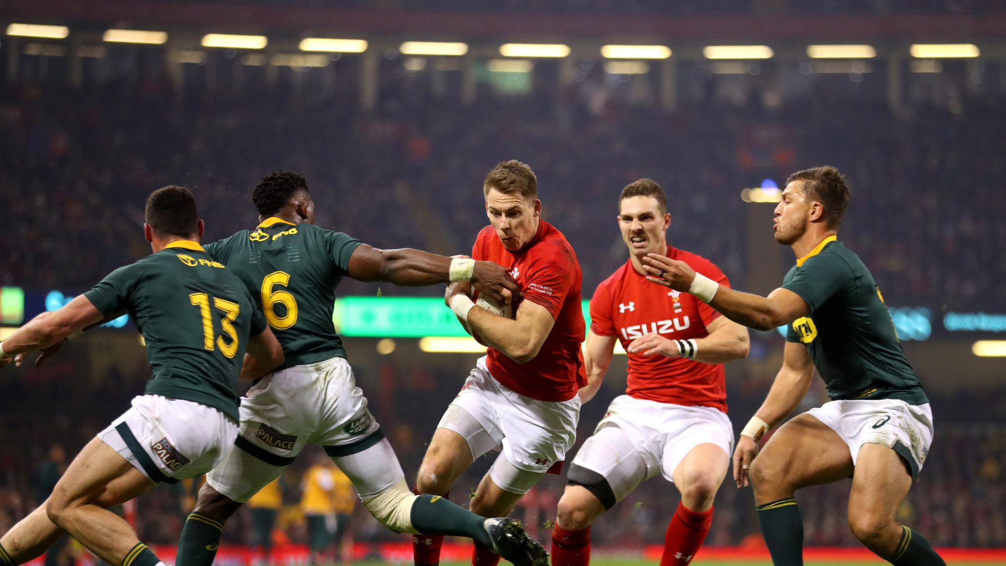 South Africa wary of 'formidable' Wales, says assistant coach Matt Proudfoot