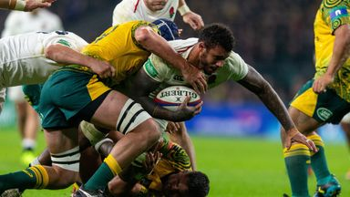 Australia's last game ended in a 37-18 defeat to England