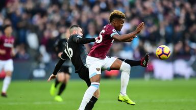 fifa live scores - West Ham were denied a strong penalty claim in their 4-2 win over Burnley