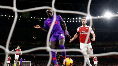 fifa live scores - Sadio Mane goal wrongly ruled out for Liverpool at Arsenal