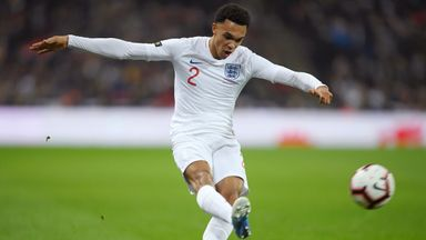 Trent Alexander-Arnold has made five appearances for England