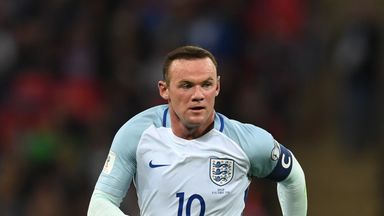 fifa live scores -                               Rooney to captain England off the bench