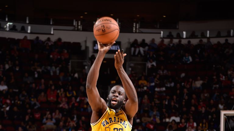 Draymond Green misfires against the Houston Rockets
