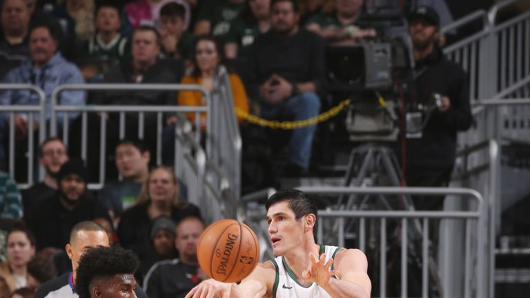 Ersan Ilyasova has made vital scoring contributions for the Bucks