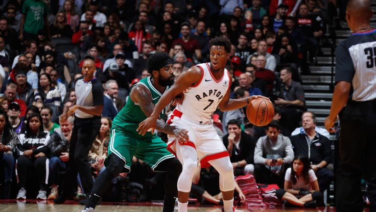 Point guards Kyrie Irving and Kyle Lowry will do battle, live on Sky Sports  Arena
