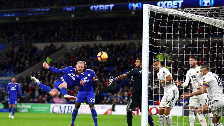 Santo questioned whether Aaron Gunnarsson's goal should have stood because of a foul in the build-up
