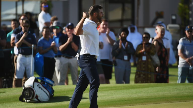 Arnaus birdied the final hole to clinch his maiden Challenge Tour title