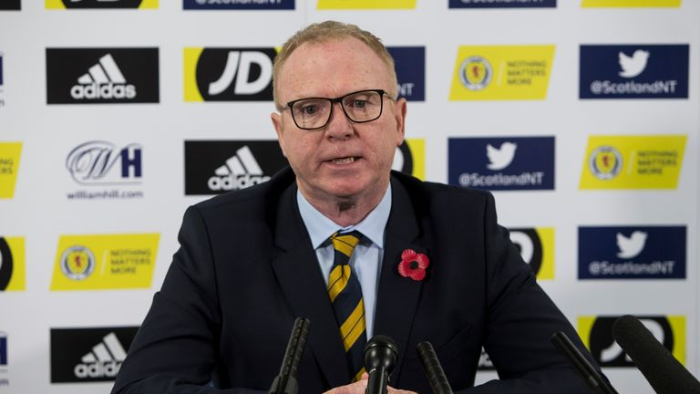 Alex McLeish says he feels empowered by the pressures of the job