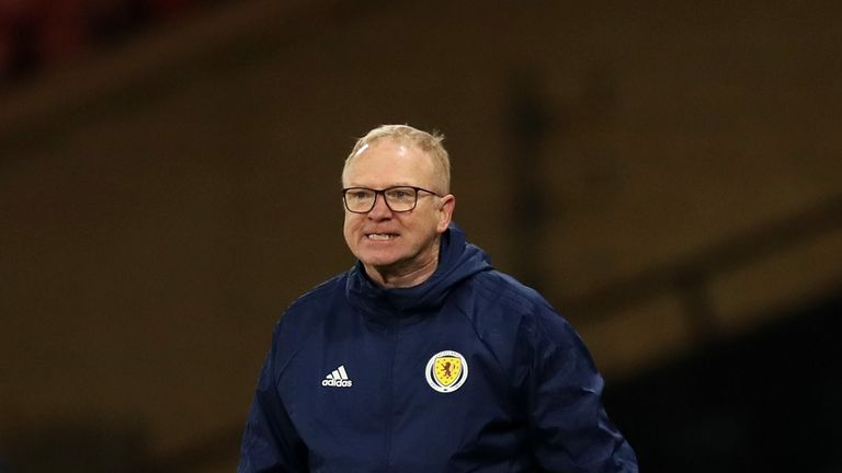 Alex McLeish has guided Scotland to the Euro 2020 play-offs