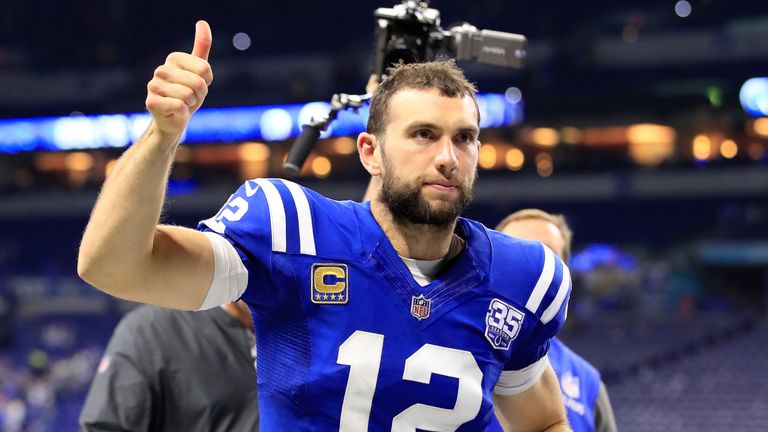 Andrew Luck guiding the Colts back to the playoffs would be one of the stories of the season