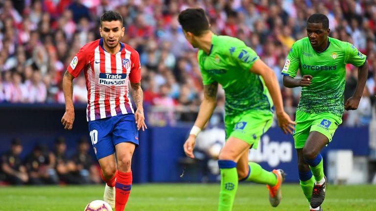 Angel Correa has been Atletico Madrid's top dribbler