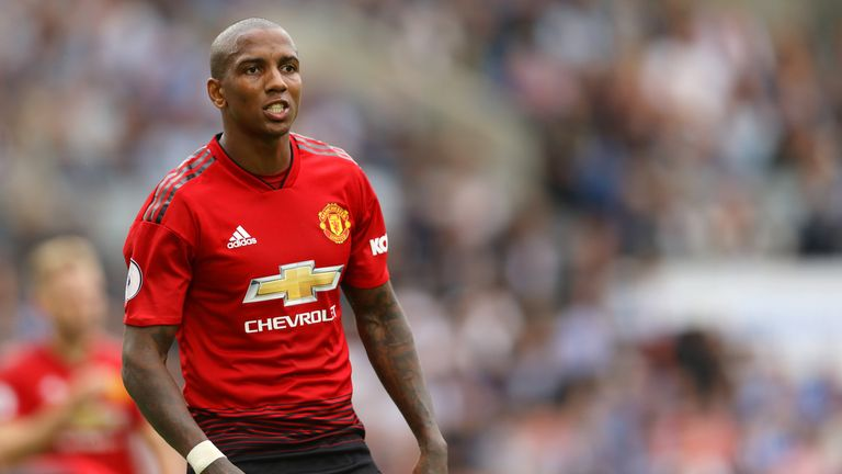 Ashley Young and Manchester United in talks over new one-year deal