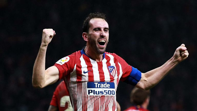 Is Diego Godin set to leave Atletico Madrid?