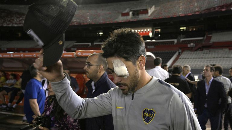 River Plate vs Boca Juniors Copa Libertadores final second-leg postponed again
