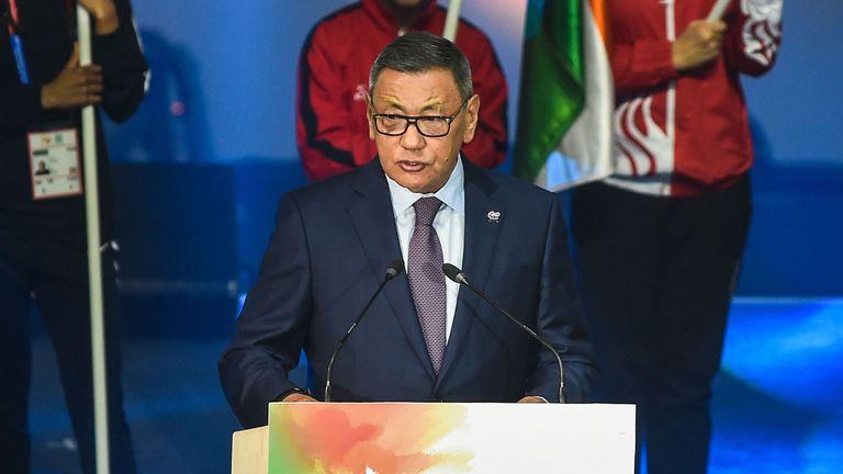 AIBA president Gafur Rakhimov