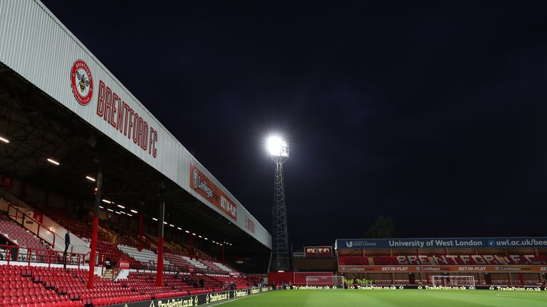 Brentford were due to leave Griffin Park in the summer