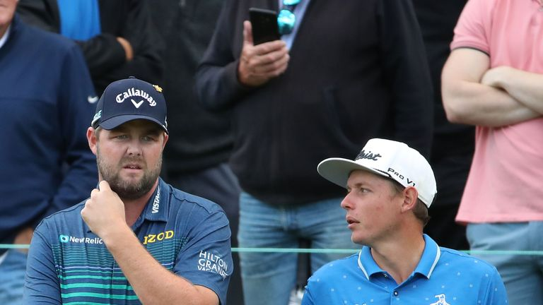 Australia, England, S Korea share lead at golf World Cup