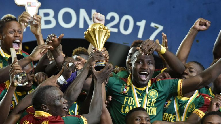 Cameroon won the Africa Cup of Nations last year