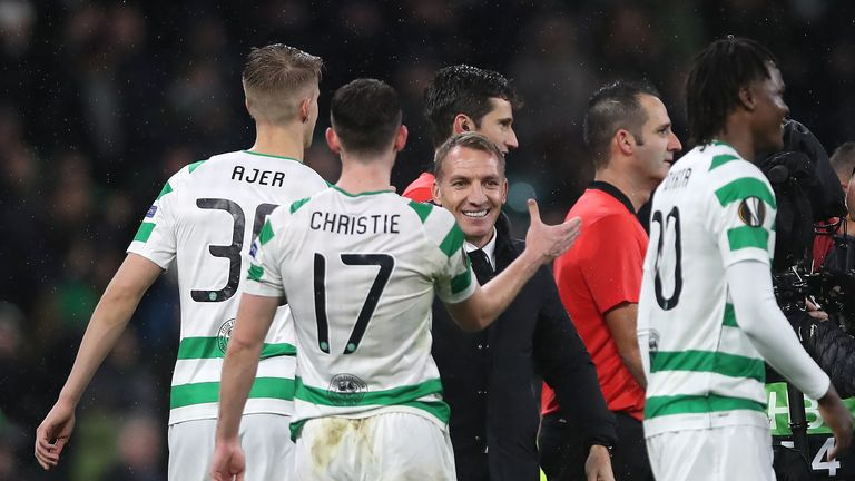 Celtic won two of their three home games in the Europa League group stages