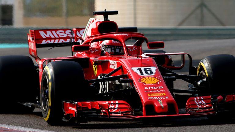 F1 Testing: Charles Leclerc enjoys strong start to Ferrari debut | F1 News