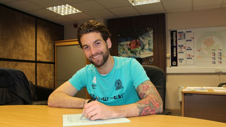 Charlie Mulgrew has committed himself to Blackburn until the 2021