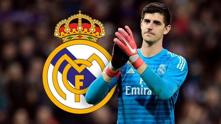 how is thibaut courtois faring at real madrid football news sky