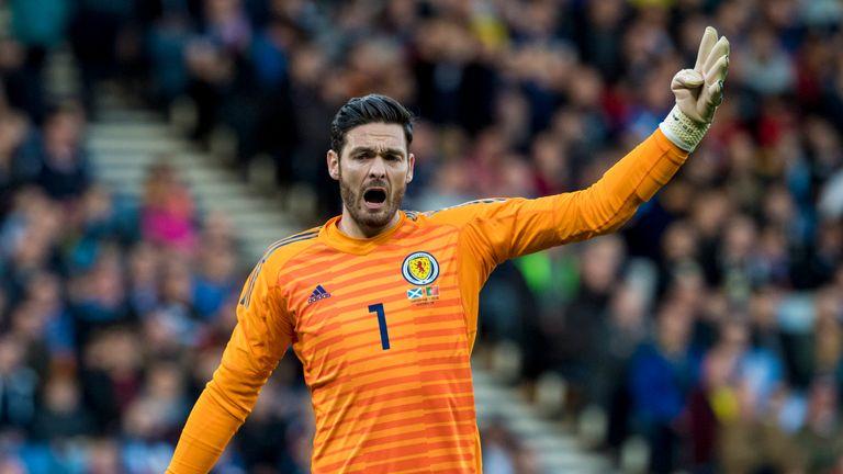Celtic goalkeeper Craig Gordon pulls out of Scotland squad