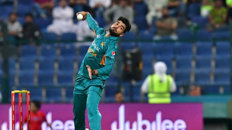Shadab Khan has been cleared to play for Pakistan at the ICC Cricket World Cup this summer