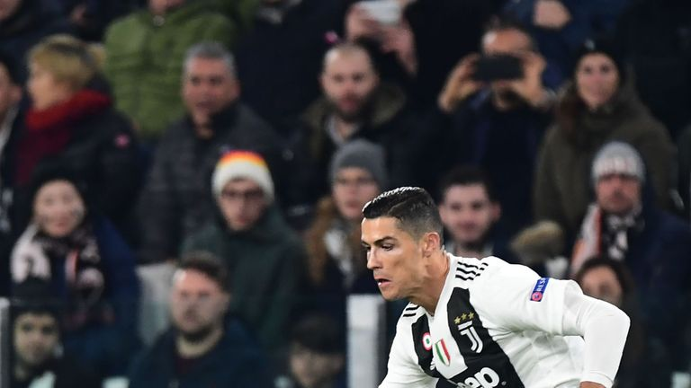 Cristiano Ronaldo set up Juventus' winner
