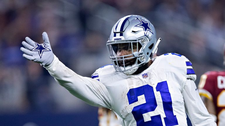 bc61bd2da Dallas Cowboys running back Ezekiel Elliott has helped fire the team into  playoff contention
