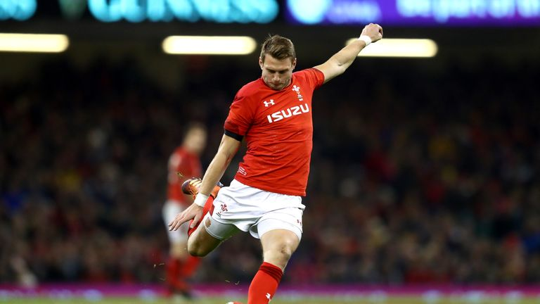 Dan Biggar came off the bench to kick two crucial penalties late in the Test