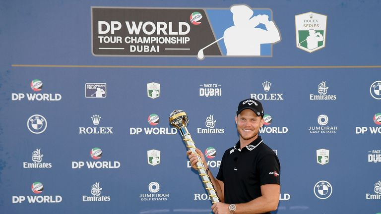 during day four of the DP World Tour Championship at Jumeirah Golf Estates on November 18, 2018 in Dubai, United Arab Emirates.
